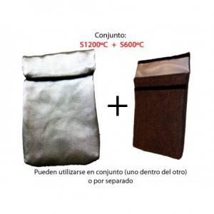 Conjunto de sobres ignífugos S600ºC + S1200ºC