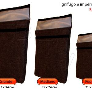 Flame retardant and waterproof  bags S600ºC