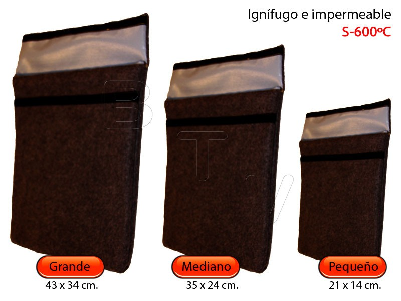 Sobre Ignífugo S600ºC e impermeable