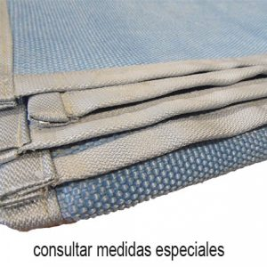 Fire retardant blankets for welding