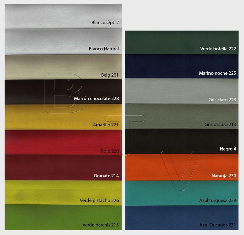 Loneta Duero 200 g: Gama Colores