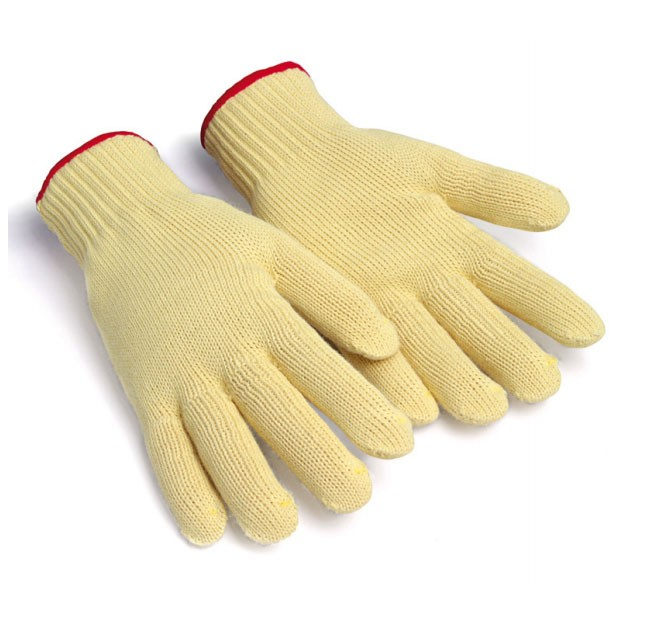Protective gloves cut-cotton lining