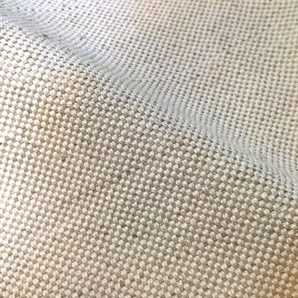 Rustic Linen fabric 380g Natural Soft