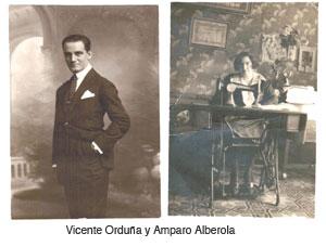 Vte Orduña y Amparo Alberola