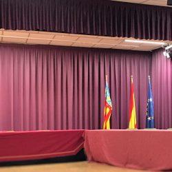 Cortinas Ayuntamiento de Náquera
