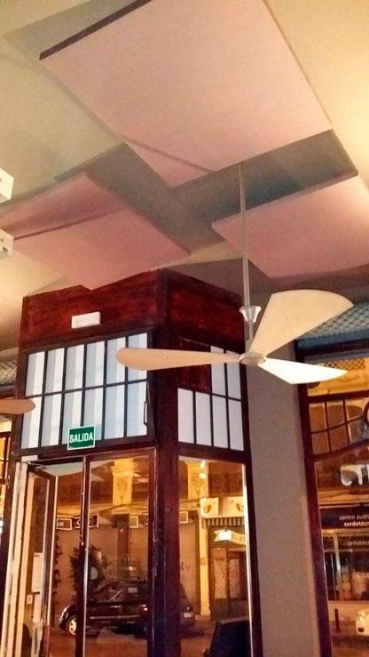 Acoustic panels Vinotinto