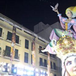 Protección Ignífuga de fachadas Falla El Pilar