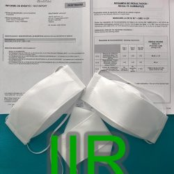 TEXTIL BATAVIA SL gets certified in AITEX a Class I TYPE IIR SURGICAL MASK