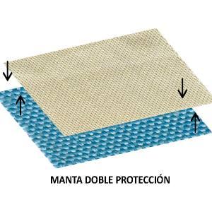 Manta doble protección horizontal