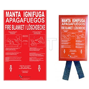 En este momento estás viendo Textil Batavia incorpora a su catálogo Mantas Ignífugas Apagafuegos